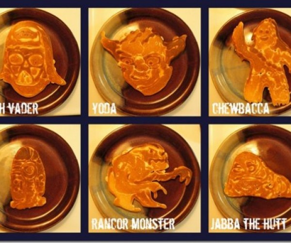 Dad Creates Awesome Star Wars Pancakes for His Kids