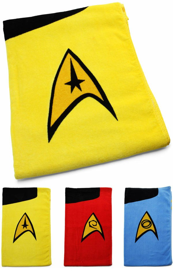 star trek towels 2