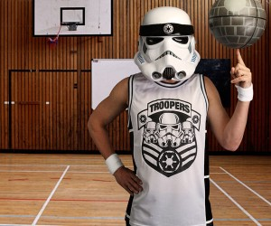 Stormtrooper Basketball Jersey: There's Only One Team Playing for the Empire