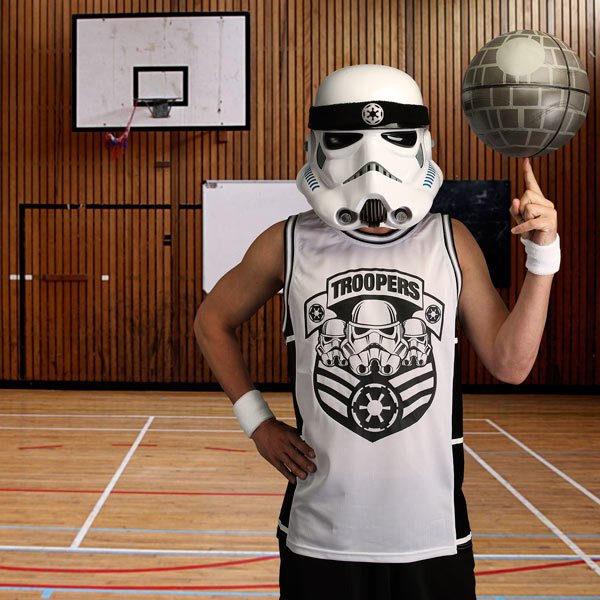 stormtrooper star wars basketball jersey thinkgeek