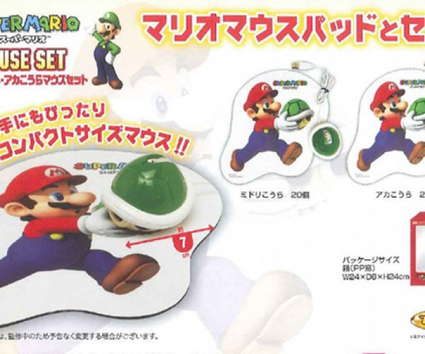 Super Mario Koopa Shell Mice Also Make Good Projectiles