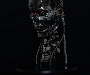 T-800 Animatronic Terminator Bust Promises Not to Kill You