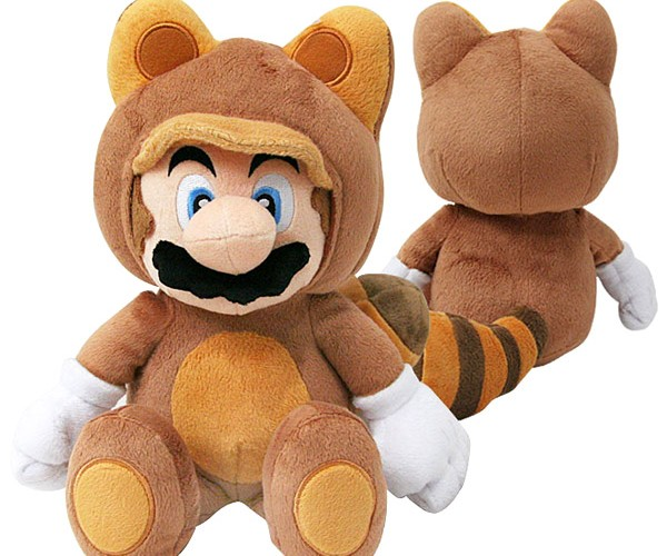 Tanooki Mario Plush Flies into Our Hearts, and onto Our Couches
