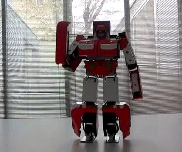 Japanese Robot Guy Creates an Amazing Transforming Car