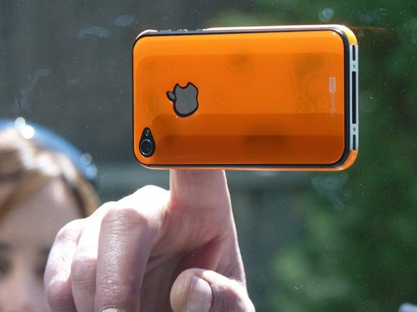 uguard resin skin iphone stick glass