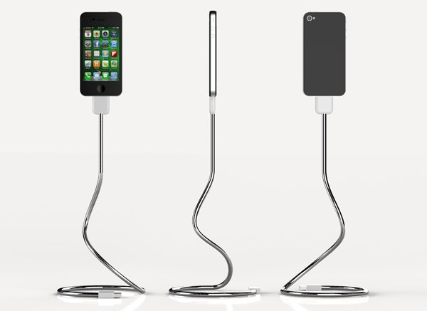 une bobine ios charge and sync cable