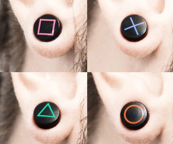 Videogame Ear Plugs Almost Make Me Want to Get My Ears Pierced