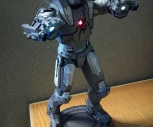 Papercraft War Machine Lights Up, Still Prefers Terrence Howard over Don Cheadle