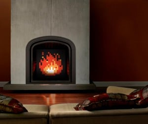 Zelda Fireplace Art Will Warm Your Heart, But Not Your Body
