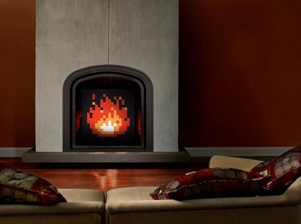 zelda fireplace art by james bit originals