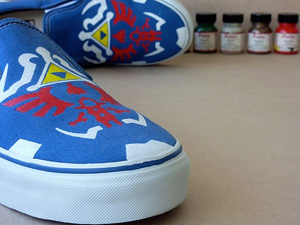 zelda twilight princess vans shoes by kyozokicks