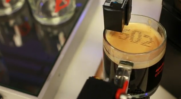 zipwhip textspresso coffee machine text make arduino foam