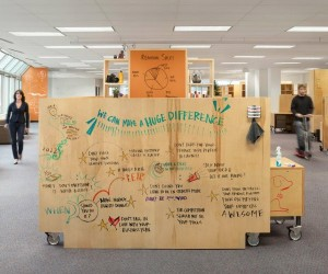 IdeaPaint Transforms Any Surface into an Erasable Board