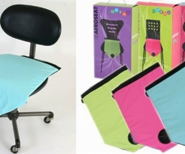 Aero Seat Cushion Cools Your Bottom While You Work