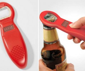 Beer Tracker Bottle Opener Counts Opened Bottles to Keep You Sober