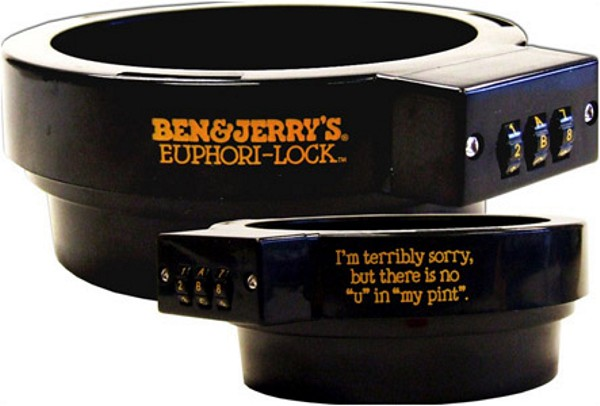 Ben and Jerry's Pint Lock