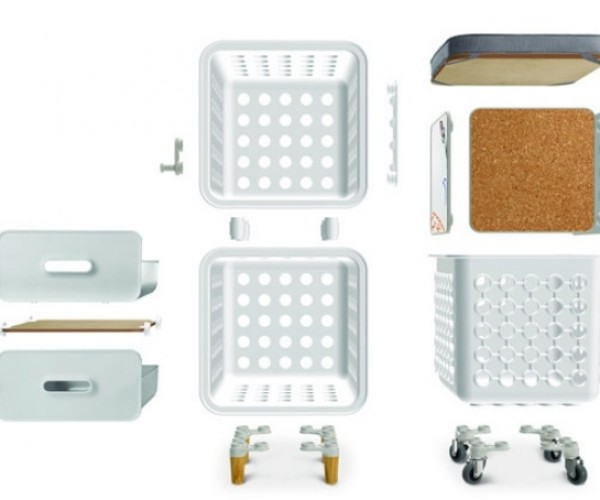 Crate Modular Storage: From Milk Crates to Cabinets and Drawers