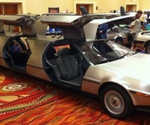 DeLorean Limo, Drive to the Future in Style