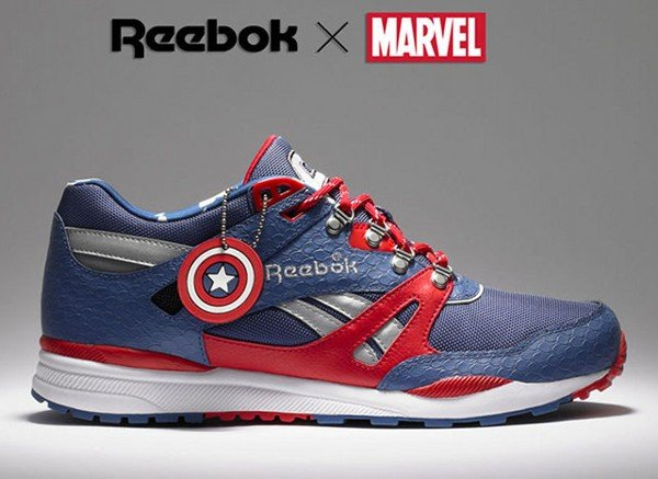 Reebok and Marvel