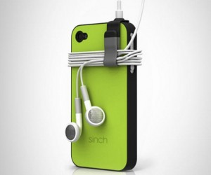 Sinch Stows Your Earbud Wires Neatly