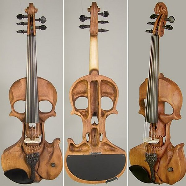 Skull Electric Violin