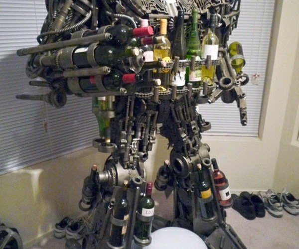 Transformer Wine Rack: Merlot in Disguise