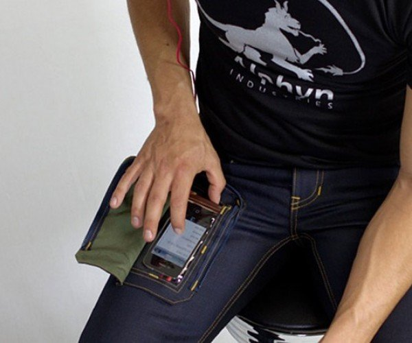 Wearcom Jeans Offer a Transparent Gadget Pocket