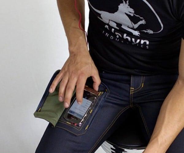 Wearcom Jeans Offer a Transparent Gadget Pocket
