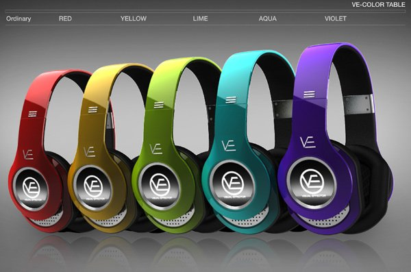 amazing headphone animation colors