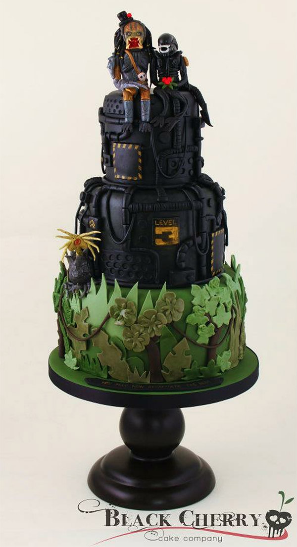 avp wedding cake