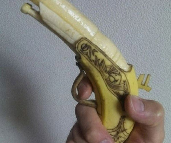 Is That a Banana in Your Pocket, or Are You Just Going to Shoot Me?