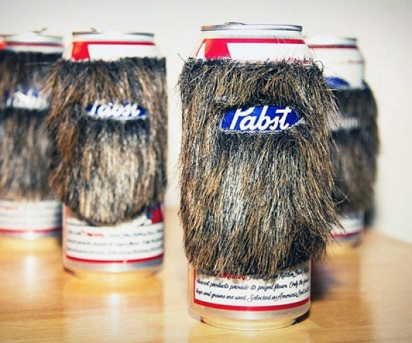 Beard Cozy Adds Some Hair to Your Drink the Right Way