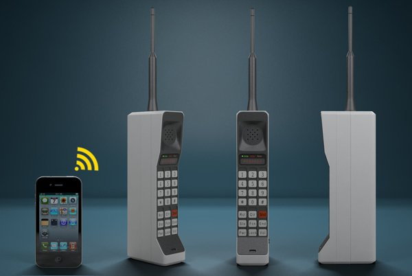 bluetooth 80s brick phone 2