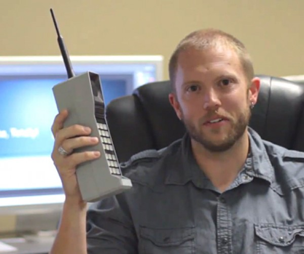 Bluetooth Brick Phone Handset: The 80s Called and Wants Its Phone Back