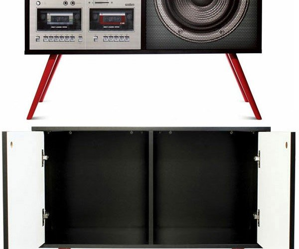 Boombox and TV Cabinets Are Not What They Seem