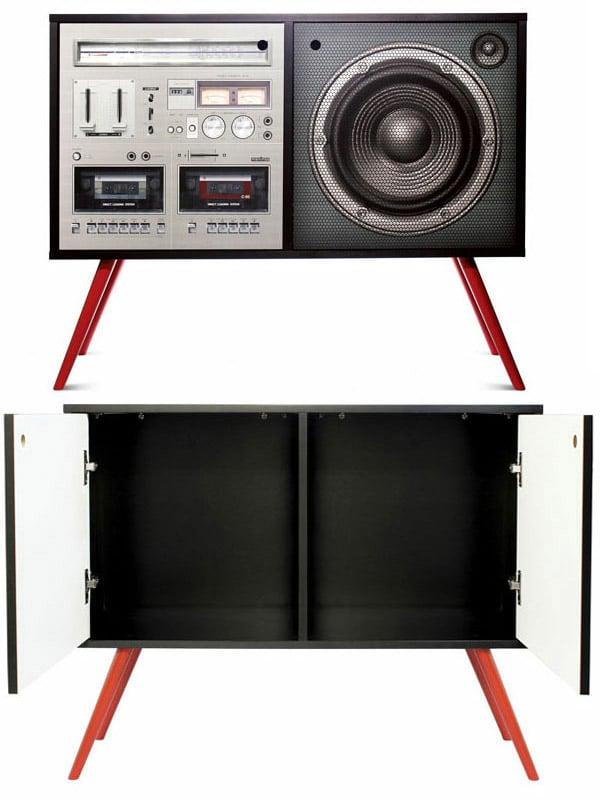 boombox cabinet meninos