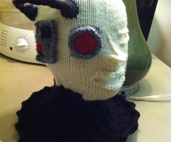 Knitted Borg Hat Will Assimilate Your Head