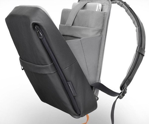 Cote & Ciel Coated Techno Flat Backpack: A Stylish Way to Carry Your Gear