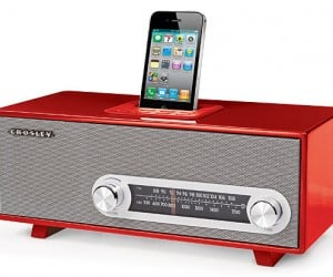 Crosley Ranchero Retro iPhone Radio: Playing Your Beats, Old School-Style