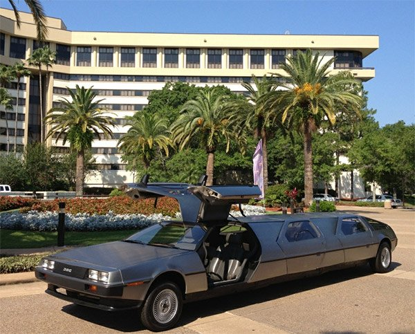 delorean limo 2