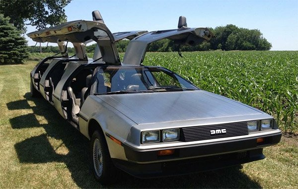 delorean limo 3