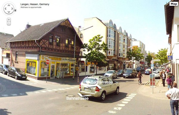 diy streetview google maps germany panorama