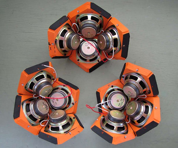 dodecahedron speaker by 60cyclehum 4