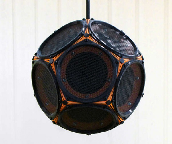 dodecahedron speaker by 60cyclehum 5