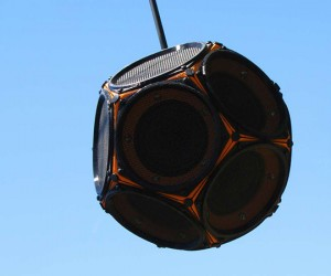 dodecahedron speaker by 60cyclehum 6