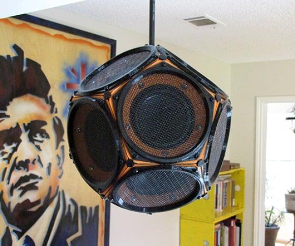 DIY Dodecahedron Speaker: Raver's Dozen