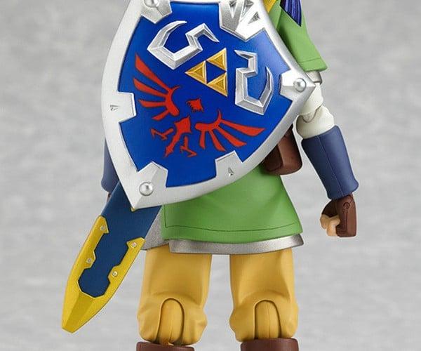 Legend of Zelda: Skyward Sword Link Figma is Earthward ...