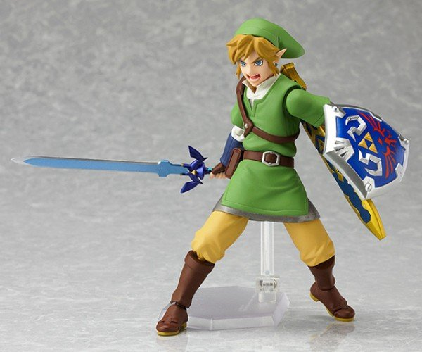 Legend of Zelda: Skyward Sword Link Figma is Earthward