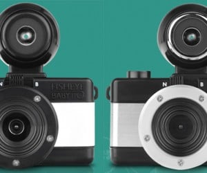 Lomography Fisheye Baby 110: Tiniest Lomography Panoramic Camera Eva!