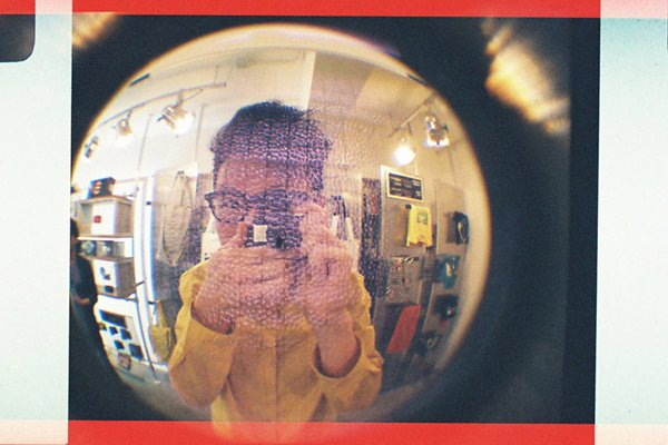 fisheye baby lomography 110 pocket
